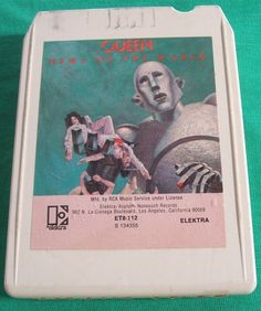 Classic Rock Queen News Of The World 1977 8 Track Tape Stereo Cartridge Freddie Mercury Elektra Asylum Play Tested Works by ManHoard 8 Track Tapes, Rock Queen, We Are The Champions, Queen News, Partner Dance, We Will Rock You, British Rock, Brian May