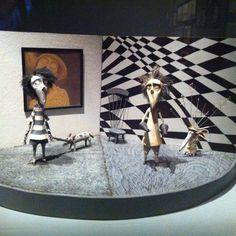 Vincent at #Cinematheque #tim burton - @Anna Totten Ibanez- #webstagram