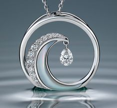"Creative Jewelry Photography, ""The Wave"" 