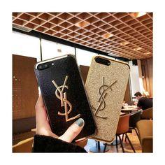 アイフォンテン/x かわいいケース イヴサンローラン IPhone 8/X携帯カバー 女子 サンローラン iphoneケース キラキラ