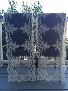 Wedding chiavari Chair Cover Bride and by babybaharcollection
