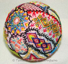 Temari Groupings and Other Photos, Ginny T.