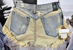 (8) 505 El Bonito Denim Cut Offs Jeans Shorts - One Teaspoon Top Picks 2013-2014 Womens Fall Winter from ENK Vegas