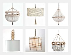 Ro-sham-beaux chandeliers-my favorite from The charleston designer. I will have my home covered in her works of art!