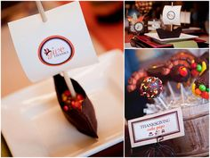 Plan a fun Thanksgiving kids party like this one - Gobble 'Til You Wobble on www.prettymyparty.com.