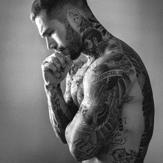 guys with tattoos - Google Search
