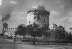 Ο Λευκός πύργος το 1901.-White Tower 1901,Thessaloniki,Greece