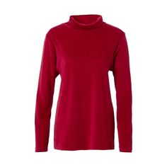 DW-Shop Damen Baumwoll-Shirt in rot