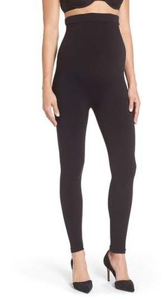 SPANX(R) Mama Look at Me Now Seamless Maternity Leggings #ad