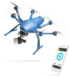 Capture the most amazing aerial footages with Hexoplus, the 1st autonomous gopro drone that follows and films you I Hexo+