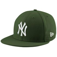 New York Yankees Basic Olive 59Fifty Fitted Cap New Era. $29.97