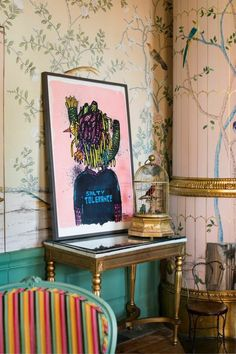 From Serbia, to Sweden, to San Francisco, IKEA have uncovered 12 of the world's best street artists to create a limited-edition collection of 12 unique urban art posters. Ikea Art, Unique Poster, Chinoiserie Chic, Chinoiserie Wallpaper, Art Series, Street Artists, Elle Decor, Urban Art, Colorful Interiors