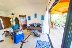 Salon de la villa l 'Ankarena île sainte marie Madagascar