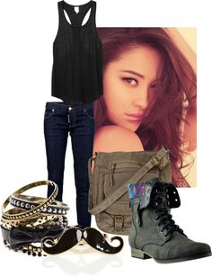 """Emily -PLL"" by arsheehan on Polyvore"