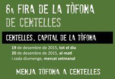 Feria de la Trufa de Centelles 2015