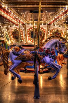 ✯ Carousel at the Mall of America :: Henry and I would go here on winter days when he was little. He loves this carousel!✯