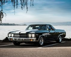 Black 1970 El Camino SS Maintenance of old vehicles: the material for new cogs/casters/gears/pads could be cast polyamide which I (Cast polyamide) can produce. My contact: tatjana.alic14@gmail.com