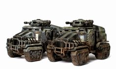 40k - Astra Militarum Taurox by ThirdEyeNuke