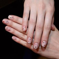 Fashion Week Fall 2015: The Best Runway Manicures - Jenny Packham from #InStyle