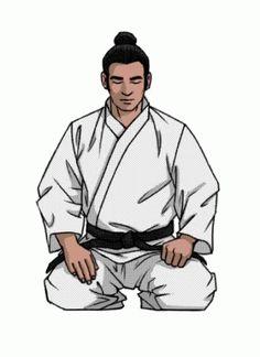 Karate Picture, Karate Shotokan, Samurai Warrior Tattoo, Aikido, Judo, Animated Gif, Martial Arts, Wrestling, Bows