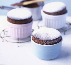 Light as a feather, these chocolatey melt-in-the-mouth soufflés are sure to please