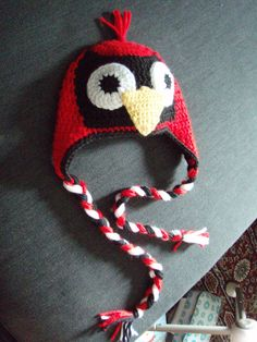 STL Cardinal Hat for Baby!!!! <3