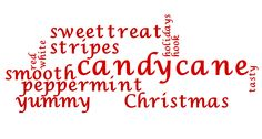 .Candy Cane Christmas🍭 Christmas Words, Christmas Candy, Christmas Colors, Christmas Treats, Christmas Holidays, Peppermint Candy Cane, Peppermint Sticks, Peppermint Patties, Penny Candy