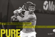 Babolat Pure Aero Lite Tennis Racquet - SPORTSMATCH Babolat Tennis, Rafael Nadal, Pure Products