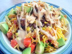 A Turtle's Life for Me: My Favorite Salad! Bbq chicken salada
