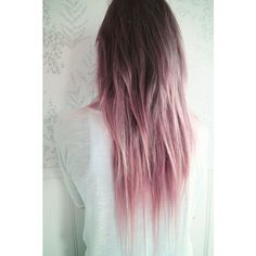 I love this hair color! Instagram- Presleylune Purple pastel long wavy... ❤ liked on Polyvore featuring accessories, hair accessories, purple hair accessories and long hair accessories