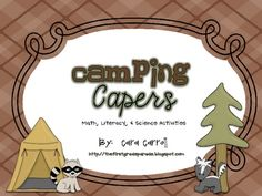 This 135 page packet is jam packed full of activities to supplement a camping themed unit of learning!  So set up your tents, start the campfires, ...