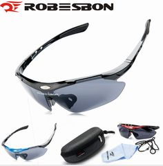 7b31096ec4 ROBESBON Brand Sun Glasses Cycling Men Running Ski Goggles Outdoor Sports  Bike Built myopia Sunglasses