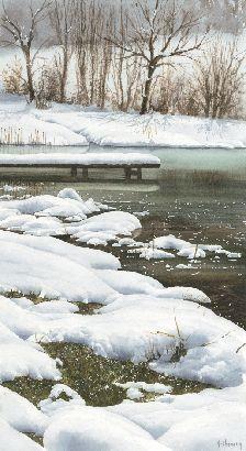 53 meilleures images du tableau aquarelle neige en 2019 aquarelles neige et paysage d 39 hiver - Paysage enneige dessin ...