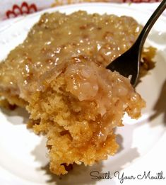 God Bless America Cake! Cajun cake made with crushed pineapple with a caramel pecan coconut icing.
