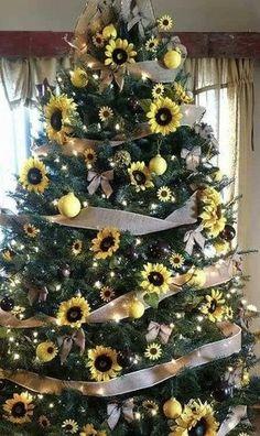 Sunflower Room, Christmas Tree, Holiday Decor, Colors, Home Decor, Teal Christmas Tree, Decoration Home, Room Decor, Xmas Trees