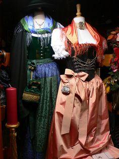 Bavarian Dirndl fashions in Munich
