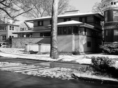 Frank. W. Thomas House. 1901.  Oak Park, Chicago, Frank Lloyd Wright