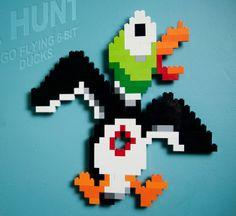 LEGO: 8-Bit Flying Ducks (set of 3) Available...   it8Bit
