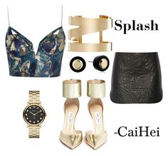 """""""Splash"""" by caihei on Polyvore featuring Alexander Wang, Zimmermann, Jimmy Choo, Isabel Marant and Marc by Marc Jacobs"""