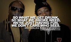 Youn & Wild & Free ~ Snoop Dogg ft Wiz Khalifa