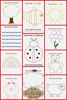 Preschool Bible Lessons for Sunday School