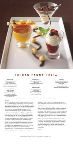 Celebrity Cruise Lines Recipe for Tuscan Panna Cotta from Tuscan Grille Restaurant is the perfect holiday #dessert!