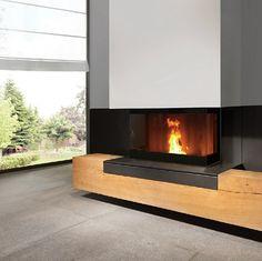 Recuperador Pellets Fratac V trifacial Pellets, Pellet Stove, Fireplace Design, Fireplace Ideas, Woodworking Projects Plans, Firewood, Living Room, Interior Design, Architecture