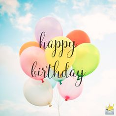 The best Happy Birthday Images - Happy Birthday Funny - Funny Birthday meme - - Happy Birthday image with balloons. The post The best Happy Birthday Images appeared first on Gag Dad. Happy Birthday Typography, Happy Birthday Wishes Quotes, Birthday Wishes And Images, Happy Birthday Greetings, Cool Happy Birthday Images, Happy Birthday For Her, Happy Birthday Funny, Birthday Memes, Birthday Ideas
