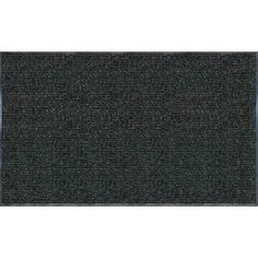 Apache Mills Enviroback Charcoal 36 in. x 60 in. Recycled Rubber/Thermoplastic Rib Door Mat-60-443-1902-30000500 at The Home Depot