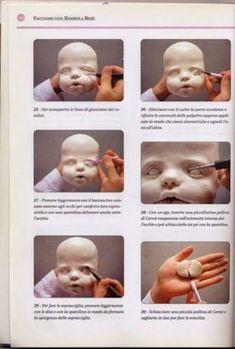 New Baby Face Sculpture Sculpting Tutorials Ideas Sculpting Tutorials, Doll Making Tutorials, Clay Tutorials, Ooak Dolls, Art Dolls, Clay Baby, Polymer Clay Dolls, Paperclay, Doll Tutorial