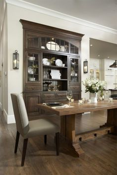 Nice pine trestle table.