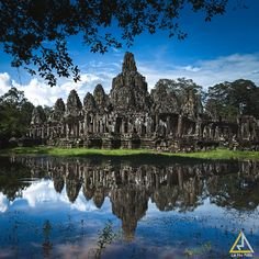 Bayon temple, Angkor complex, Siem Reap city, Kingdom of Cambodia.