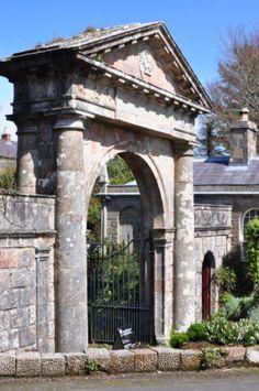 Mussenden Demense, country residence of Ferderick Hervy the Earl Bishop of Derry, Northern Ireland