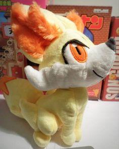 fennekin peluche pokemon takara tomy anime pikachu 20 cm-